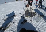 K2 Ski Testing Ben Wallace