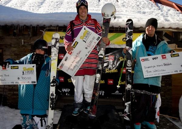 Henrik (3rd), Bobby (1st) Tom (2nd). Credit Camilla Stoddart