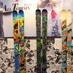 2012 Line Skis Blend, Chronic, Mastermind