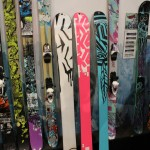 2012 K2 Skis Miss Directed, Miss Behaved,  Miss Demeanor bases