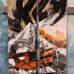 2012 K2 Skis Pontoon Top Sheet Graphic