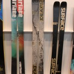 2013 Surface One Life, Watch Life, Green Life skis