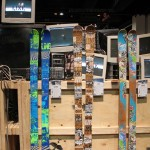 2013 Line Mastermind skis, Stepup skis, and Afterbang skis