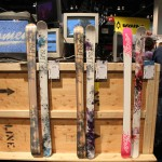 2013 Line Celebrity 90, 85, and Line Shadow skis