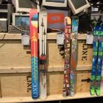 2013 LIne Sir Francis Bacon Shorty skis & Afterbang shorty skis