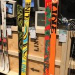2013 Line Blend & 2013 Line Chronic skis