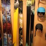 2013 Atomic Bent Chetler, 2013 Atomic Blog skis