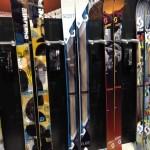 2013 Scott Punisher, Pure, Jib TW, & Jib skis