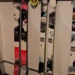 2013 Salomon Rockette 115 & 92 skis