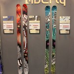 2013 Liberty Antigen skis & 2013 Liberty LTE skis