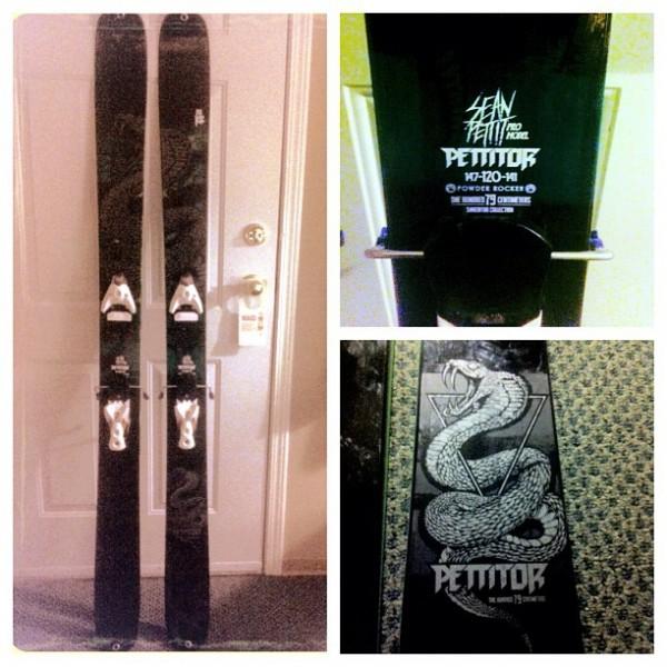 2014 K2 Pettitor Skis - Snakes