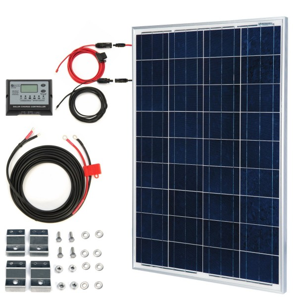 AriXsun Energy Sprinter Van 100 Watt Solar Panel Kit